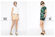 La ausencia de contraste favorece a las siluetas de talle superior corto. #siluetafemenina #moda #trucosdeestilismo #estilo