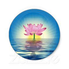 Lotus Reflection Sticker