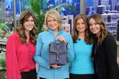 The PackIt girls with Martha Stewart and Mary Tedesco