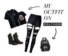 """My BTS Outfit"" by allenakim on Polyvore featuring WithChic and Chanel"