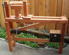 Going's on of Otto's Pastimes: Home Made Wood Lathe or a DIY Wood Turning Machine