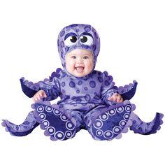 INCHARACTER COSTUMES REF: 6037 PULPO BEBE - Incluye traje especial para que cambies el pañal de tu bebe fácilmente, gorrito con ojos y botines antideslizantes. PRECIO COLOMBIA: 155.000