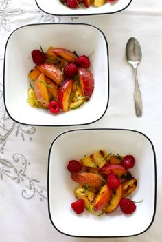 Eat Well, Spend Less: Grilled Salads (Fruit Salad with Lime) on http://www.simplebites.net