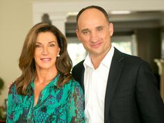 Hilary Farr and David Visentin of HGTV show Love it or List it!