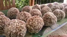 Zabpelyhes almás kókuszgolyó