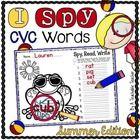 Cvce Words, Phonics Words, Daycare Themes, School Themes, Word Work Activities, Literacy Activities, Educational Activities, Homeschool Kindergarten, Elementary Teaching