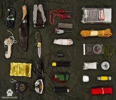bushcraft survival kit #survivalgear