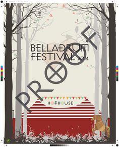 Belladrum Festival Branding