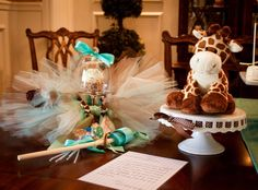 """Photo 1 of 12: Baby Shower/Sip & See """"Giraffe Chic""""   Catch My Party"""