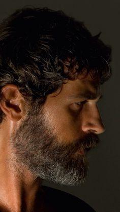 Beautiful bearded man