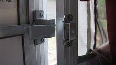 Popup Camper Door Handel Modification