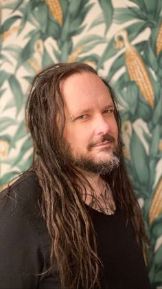 "leperwitch: ""Kornception… Jonathan Davis next to a corn mural in Iowa, February No photographer listed. Ray Luzier, Brian Head, Mitch Lucker, Jonathan Davis, Mayday Parade Lyrics, Nu Metal, Heavy Metal, Alan Ashby, The Amity Affliction"