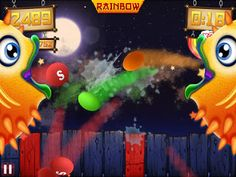 iAppsclub - Apps gone Free - iPhone, iPad, iPod and Android Apps: Fruit Ninja vs Skittles: New iPhone & Android Game