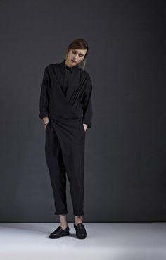 fashion, cloth, style, kowtow aw, autumn winter, look books, aw14, winter 2014, black