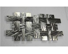 Modern Metal Wall Art  Contemporary Metal Wall by georgiametalart, $635.00