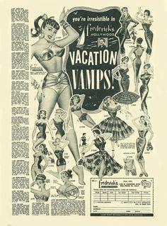 50's Fredricks of Hollywood ad