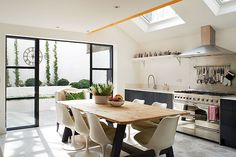 Transforming a Victorian Terraced House -  Emma's kitchen has plenty of natural light