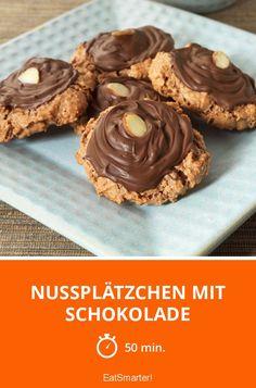 Nussplätzchen mit Schokolade - smarter - Zeit: 50 Min. | eatsmarter.de