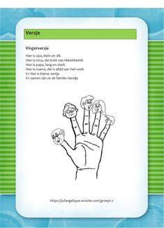 Versje: Vingerversje