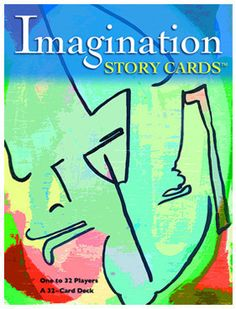 Imagination story cards are used to help students stretch their mind and use their creativity in new ways