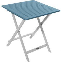Burano CGB UR29 - tavolo da pranzo all'aperto (acacia), blu: Amazon.it: Giardino e giardinaggio