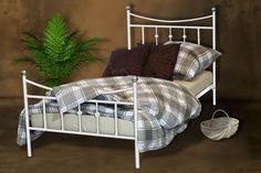 Łóżko metalowe do sypialni 140x200 WZÓR 26 łóżka metalowe & materace Lak System