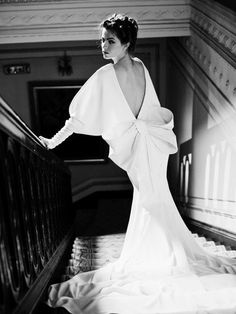 Beautiful Black and White Fashion Editorial