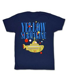Take a look at this Blue 'Yellow Submarine' Tee - Adult by American Classics on #zulily today!