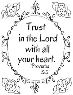 Trust in the Lord with all your heart. Get the free
