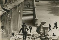 Toma del Cuartel de la Montaña. Julio 1936, Madrid. Sumerian, Minoan, Spanish War, Poster On, Madrid, World War Ii, Egypt, Street View, Pictures