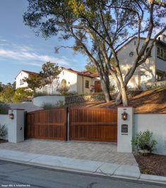 California Spanish Home landscape