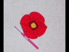 Tutorial uncinetto - Primula all'uncinetto - fiore crochet - YouTube