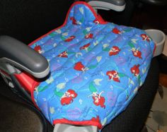 Graco Turbo booster seat covers padded in Ariel print and in colors and designs to delight your children