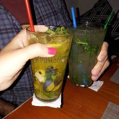 Mojito sem álcool: já rola aprovação do bar mesmo sem provar!  #lambisgoiabar @lambisgoia.bar #vidadegravida