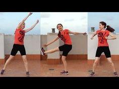 Rutina cardio para adelgazar y estrechar la cintura y aplanar el abdomen. Cardio abs and obliques workout. Lose inches off your waist MUSICA-SNABISCH PASATE ...