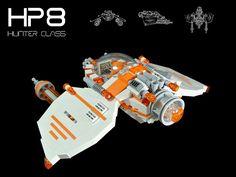 HP8 - Hunter Class Plasma #LEGO #space #MOC