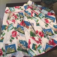 Sweet skirt - ABS by Allen Schwartz Size 4 Very sweet and perfect for spring. Like new condition. Skirt is not lined but well made and cute details. Perfect for your European summer vacation! ✈️ ABS Allen Schwartz Skirts A-Line or Full