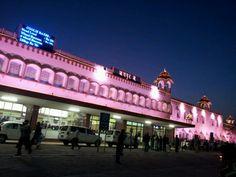 Jaipur Junction in Jaipur, Rājasthān