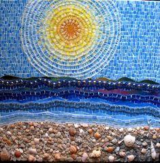 Sun mosaic.