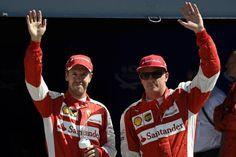 F1 2016 Head-to-Head: Sebastian Vettel vs. Kimi Raikkonen at Ferrari