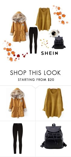"""Shein 8"" by zerina913 ❤ liked on Polyvore featuring Paige Denim, WithChic and shein"