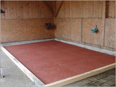 Stallmatte 40 mm Drainage - anthrazit Paddock Trail, Horse Paddock, Horse Shelter, All About Horses, Pole Barn Homes, Dream Barn, Horse Stalls, Horse Farms, Stables