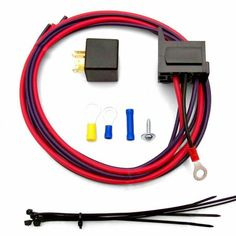 Electric Fan Relay Kit with Plug n Play Harness | johnnylawmotors.com