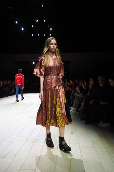 Something a little different from Burberry this season at London Fashion Week