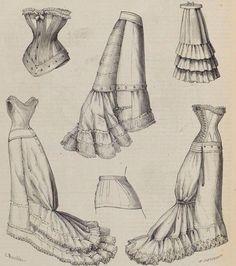 Le Moniteur De La Mode, 1876. 640×722)