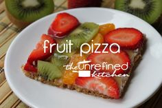 GF Fruit Pizza | The Unrefined Kitchen | Paleo & Primal Recipes