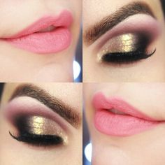 Pink and golden eyes~