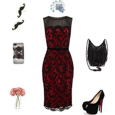 """""""dress for mother"""" by doris009 on Polyvore"""