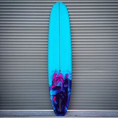 Cutlap Aqua with hot pink : purple : blue ink tail swirl Fish Surfboard, Surfboard Shapes, Surf Design, Surf Room, Longboard Design, Summer Surf, Surfs Up, Color Of Life, Blue Aesthetic