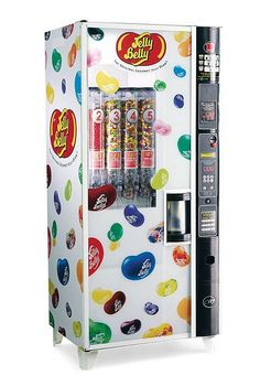 This Christmas, give the jelly bean lover in your life the ultimate gift: the Jelly Belly Candy Company Vending Machine that quickly dispenses their favorite flavors.